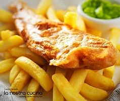 fish & chips alla veneziana